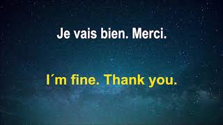 Part1 Learn French just 5 minutes daily