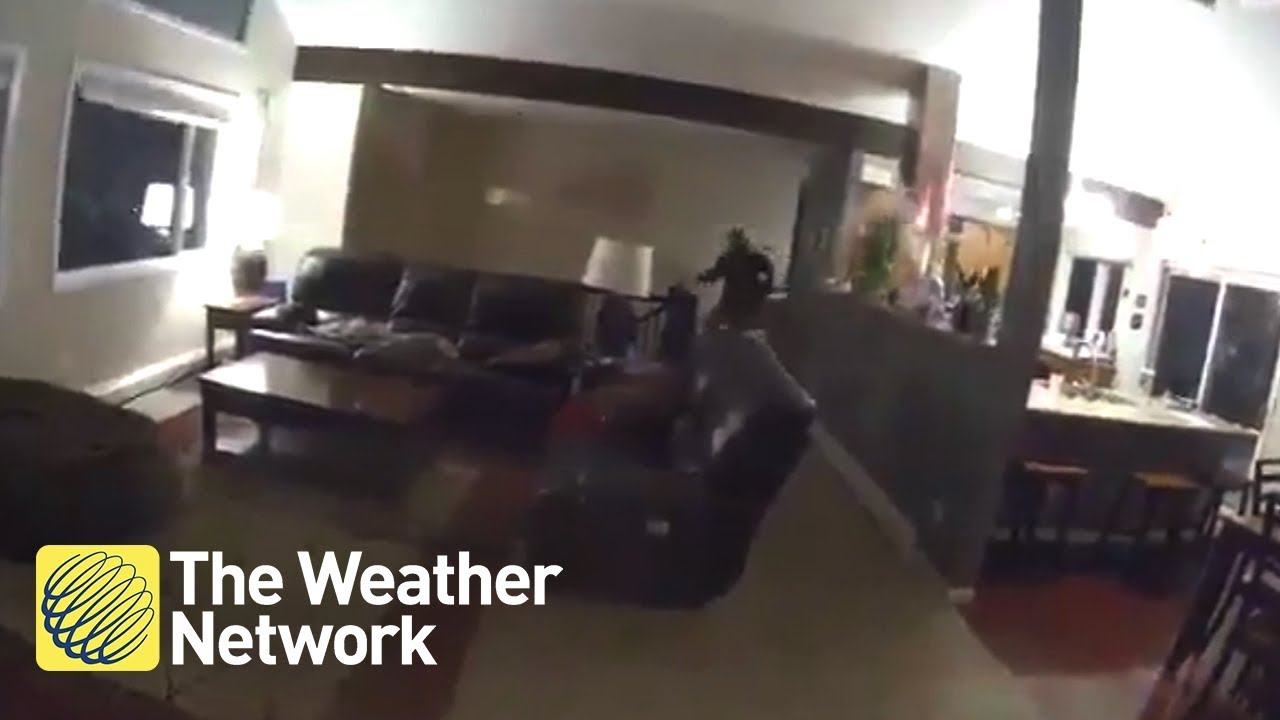 MUST SEE: Family reactions when Alaska quake hits shaking entire homes