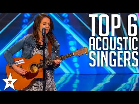 Top 6 Female Acoustic performances | WORLDWIDE | Got Talent Global