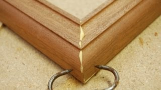 How To Clamp A Picture Frame The Easy Way - Woodworking Methods & Skills