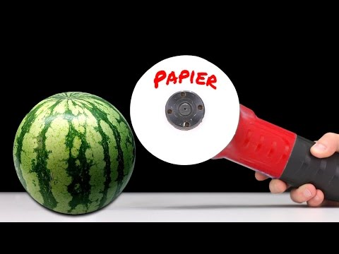 WHAT CAN YOU CUT WITH PAPER? Watermelon