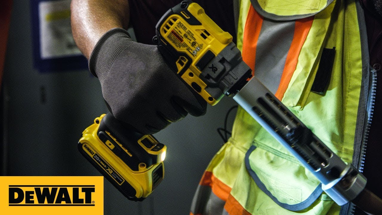 Get a Clean Cut Every Time DEWALT's 20V MAX XR Brushless Cable Stripper