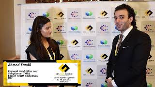 Mr. Ahmed Kandil sharing his thoughts on the LexTalk World Conference, Dubai 2021