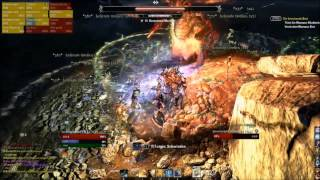 Teso Raid Sanctum Orphidia -  Mantikor kill (first boss)