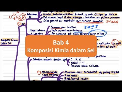 BIOLOGI SPM T4- Bab 4 Komposisi Kimia Dalam Sel