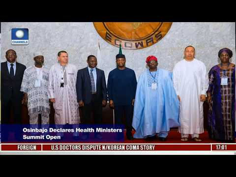 Osinbajo Declares 18th ECOWAS Health Ministers Assembly Open