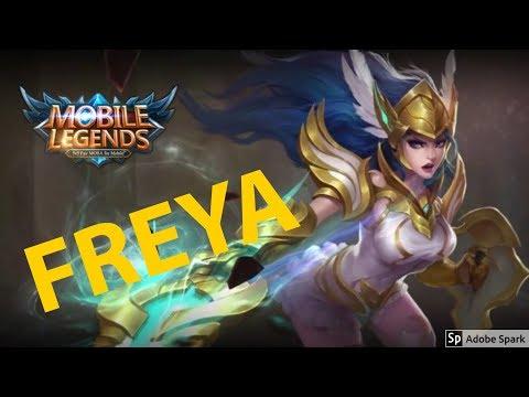 FREYA MUST BUY HERO (MANIAC!! first game) | Mobile Legends