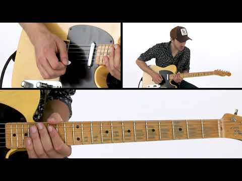 Electric Guitar Lesson - Gold & Black Dynamic Expression: Breakdown - Joe Robinson