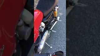 Iron Cobras Fabrication 2:1 Reverse Cone Full Exhaust for Triumph Thruxton  R Sound Clip