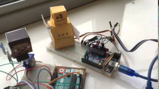 Coderdojo Dublin - Animated Papercraft Instructables Robot