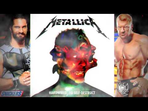"""WWE WrestleMania 33 Official 3rd Theme Song : """"Am I Savage"""" ►By Metallica"""