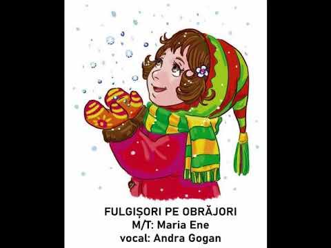 FULGIȘORI PE OBRĂJORI – Cantece pentru copii in limba romana
