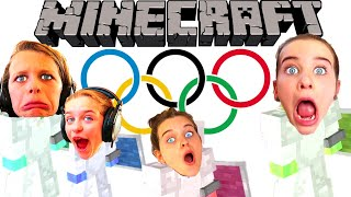 WHO'S THE BEST ATHLETE? MINECRAFT OLYMPIC GAMES w/ The Norris Nuts