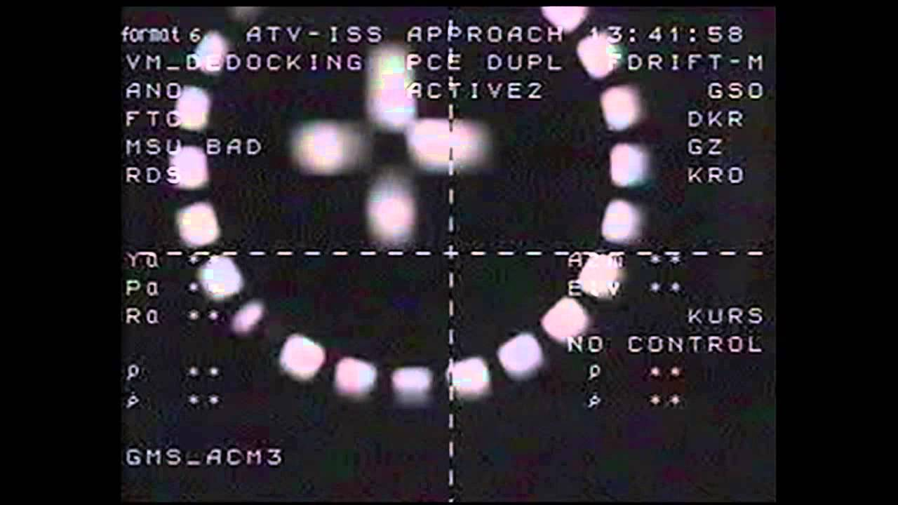 European Cargo Ship Departs The Space Station For The Final Time