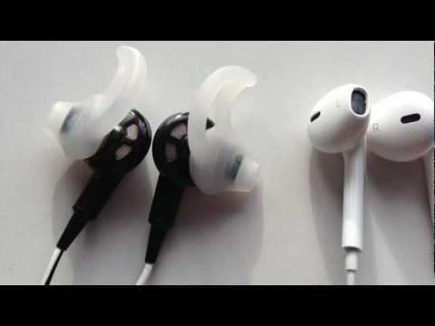 Apple Earpods Vs Bose IE2 Earphones