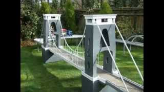 Clifton Suspension Bridge Model