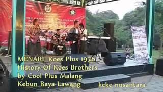 MENARI, Koes Plus 1976 History Of Koes Brothers by Cool Plus Malang