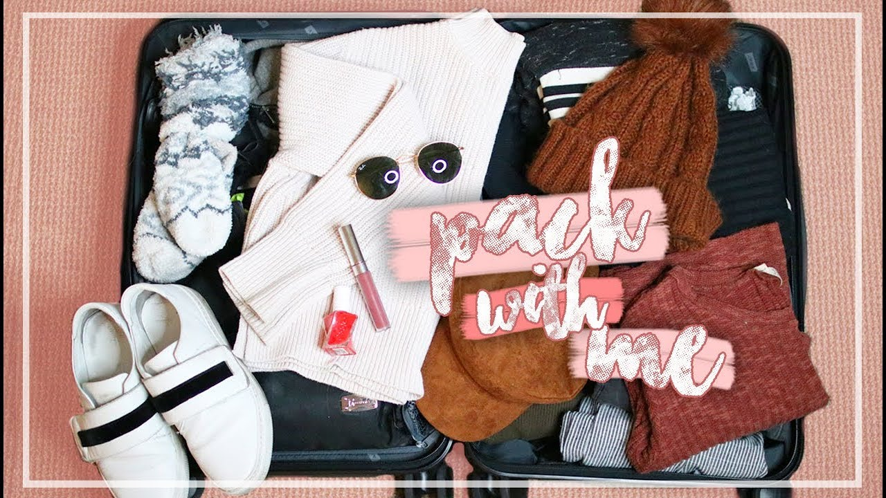 What To Pack In A Carry On Suitcase For A Winter Vacation Pack With Me