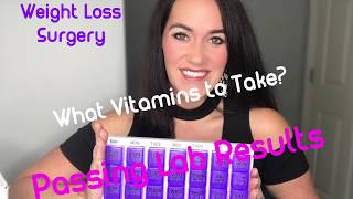 What Vitamins Should I Take? Passing Lab Results 💯 | RNY Gastric Bypass | Weight Loss Surgery