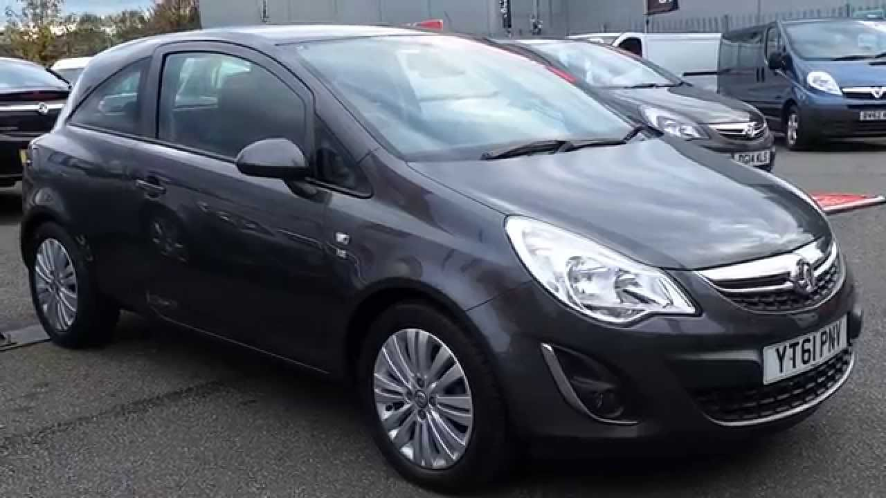 2011 61 plate vauxhall corsa 1 2 16v excite 3dr inc air con in techinical grey youtube. Black Bedroom Furniture Sets. Home Design Ideas