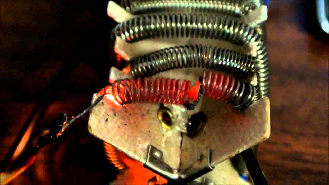 Tda2040 Chip Amp Vs Heater Coil Wire Youtube