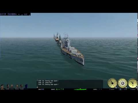 LSH3 sinking a lot of lined up ships