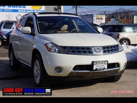 2008 Nissan Murano 3 5 Sl Awd Youtube