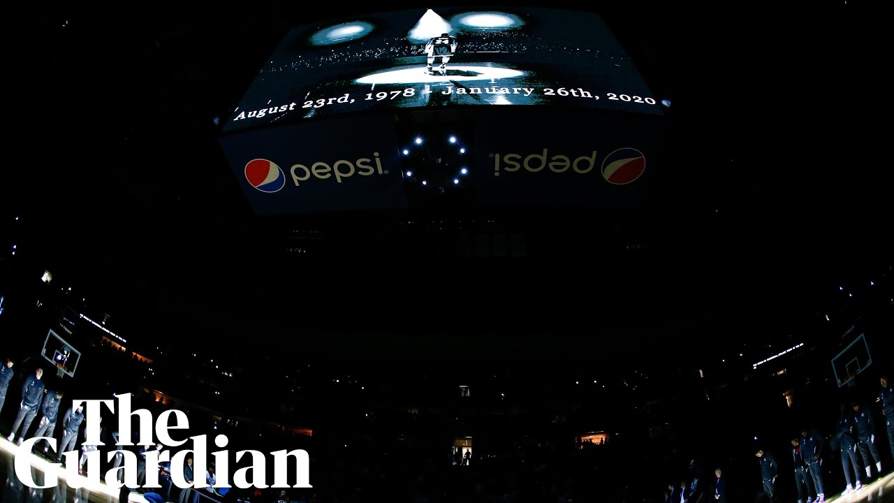 Minute's silence held for Kobe Bryant at NBA game