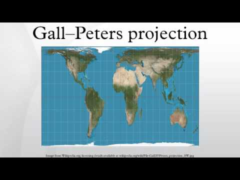 Gall Peters Projection World Map.Gall Peters Projection Youtube