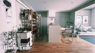 【ルームツアー】見せる隠すの収納でスッキリと ミッドセンチュリースタイルのお部屋 良いものを長く使う 2LDK・2人暮らし Room tour