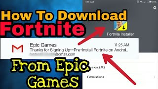 How To Download Officially Fortnite For Android|Fortnite Installer|Not Clickbait