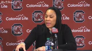 Dawn Staley after win over Ole Miss