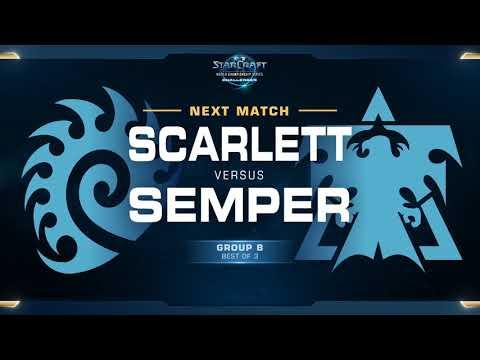 Scarlett vs Semper - WCS Challenger 2018 Season 1 – North America