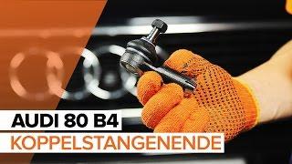 Wie AUDI 80 (8C, B4) Motorluftfilter austauschen - Video-Tutorial