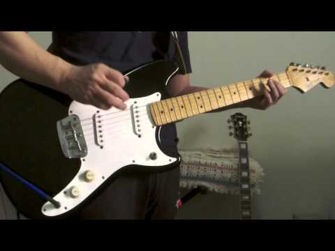 fender duo sonic electric guitar mexico black 1994 demo youtube. Black Bedroom Furniture Sets. Home Design Ideas