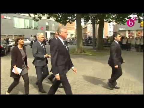 Funérailles  de Jean-Luc Dehaene à Vilvorde