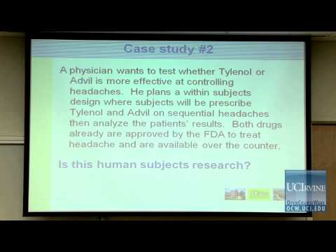 PubHlth 194: Clincal and Translational Science. Lec. 5. Introduction to the IRB, Informed Consent.