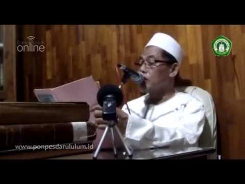 Pengajian Kitab Al Hikam oleh KH Cholil Dahlan Pondok Pesantren Darul Ulum Jombang