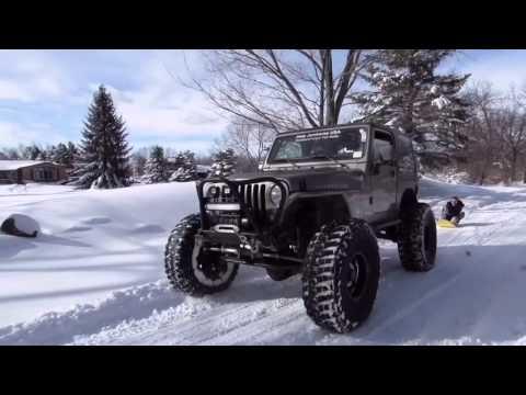 Snow Day Sledding (ft. Jeep)