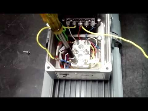 conexi�n service sew eurodrive youtube 1-0 Lead Motor Diagram