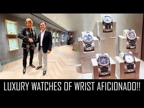 THE LUXURY WATCHES OF WRIST AFICIONADO!!