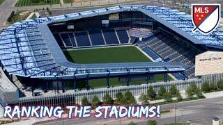 MLS 2021 Stadiums RANKED!
