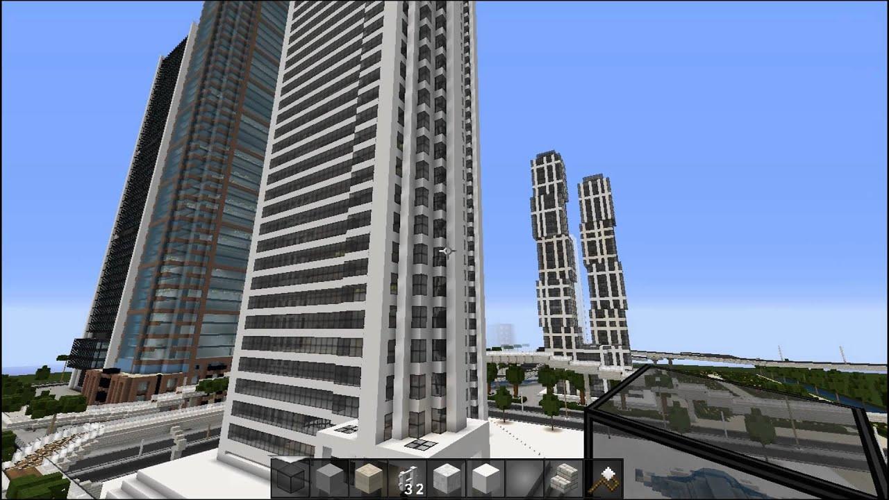 Minecraft #002 Neuer Wolkenkratzer Letu0027s Play Minecraft #Deutsch   YouTube