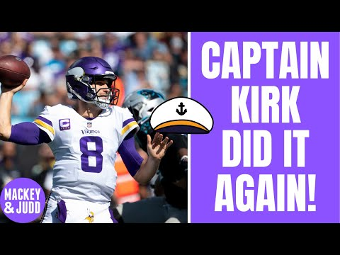 Kirk Cousins saved Mike Zimmer's job AGAIN!