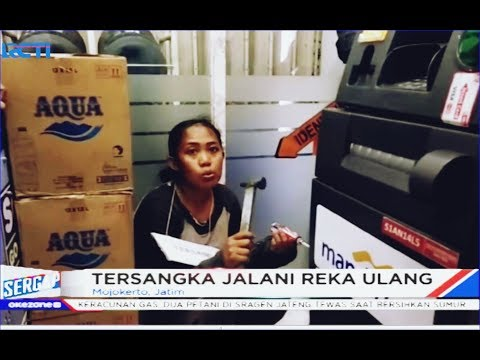 Terjerat Utang Rentenir, Ibu 4 Anak Nekat Bobol Minimarket di Mojokerto - Sergap 03/01