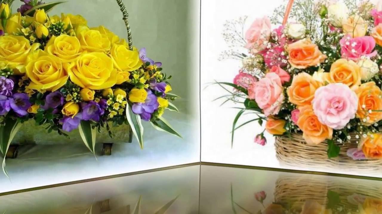 Друзья одноклассники - цветы и песня для вас....Михаил Герлинский...
