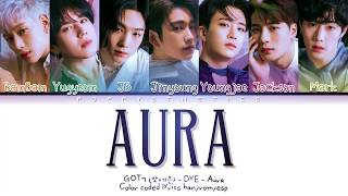 GOT7 (갓세븐) - AURA (Traducida al Español + Color Coded Lyrics…