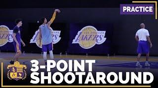 Kyle Kuzma, Lonzo Ball Three-Point Shootout Competition