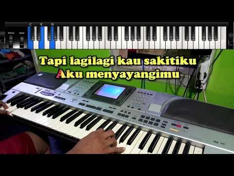 entah-apa-yang-merasukimu---karaoke,-chord,not,-instrumen