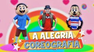 A ALEGRIA ♪ Turma Kids e Cia (Coreografia Gospel Infantil)